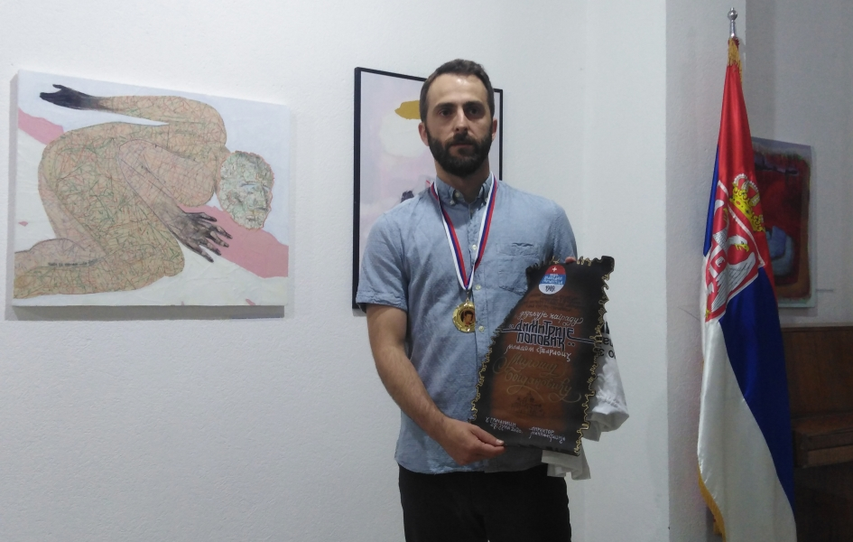 gracanica-dodeljene-likovne-nagrade-i-otvorena-izlozba-radova-vidovdan-2020