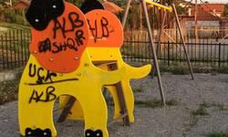 susica-kraj-gracanice-uvredljivim-grafitima-vandalizovano-decje-igraliste